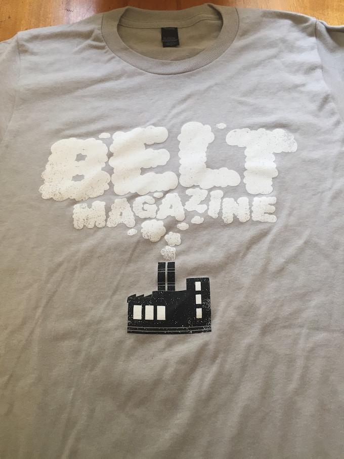get our new Belt t-shirt!