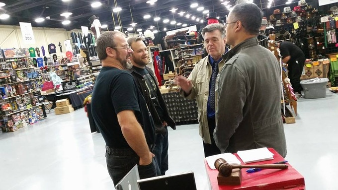 Jeramie and Brian Meeting with Neal Adams and BUZZ
