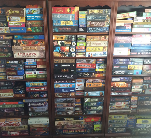 A sampling of our game library, available for anyone to enjoy!