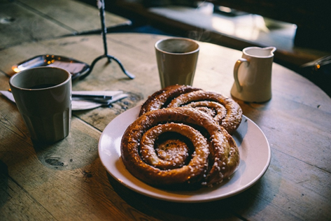 Coffees and pastries are just a few of the offerings we'll have in our café!