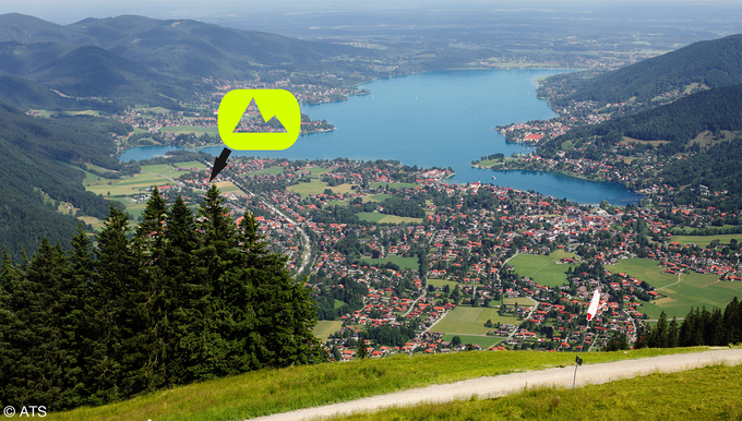BIONICON office at Lake Tegernsee - trails all around