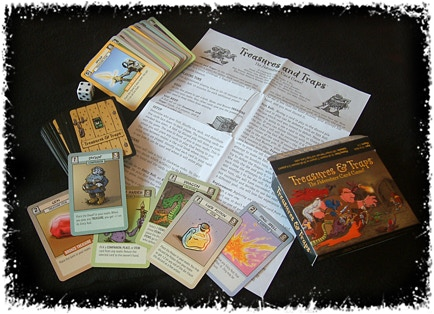 Treasures & Trap: Nominated Card Game of Year 2007 Origins