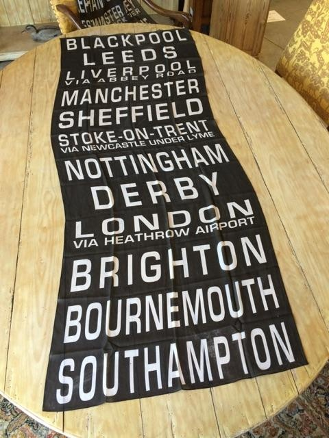 """$98 PLEDGE REWARD - Silk Georgette Scarf - Your choice of ONE of the two scarves shown. See details in the Pledge Reward Section - Shown Here: """"Blackpool to Southampton"""""""