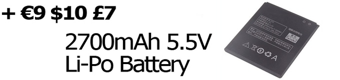 Get a 14.8Wh battery capacity instead of 8.25Wh (SUNO WALLET DAY & NIGHT VERSION ONLY)