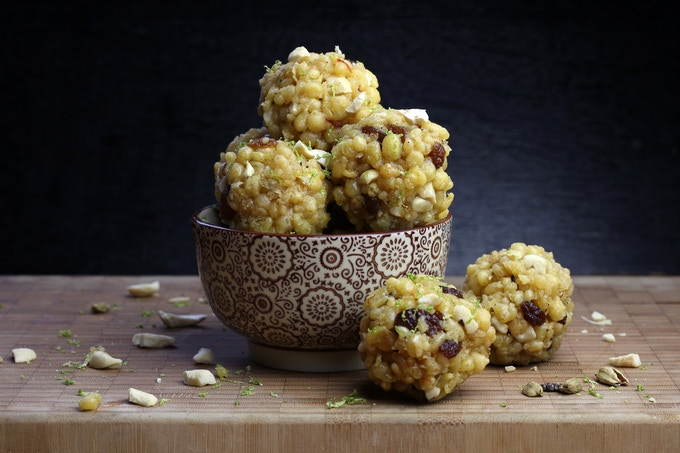Ladoos - Classic Sweet & Ganesh's Favorite!