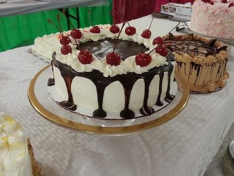 Cakes from the Taste of Faribault event 2015: Chocolate Cherry Sundae!