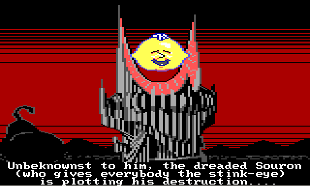 Meet the scariest bad guy in the history of adventure games.