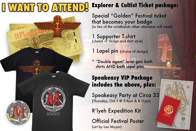 Those who attend the Festival can get all this stuff, plus take part in the amazing events at this 20th Anniversary celebration!