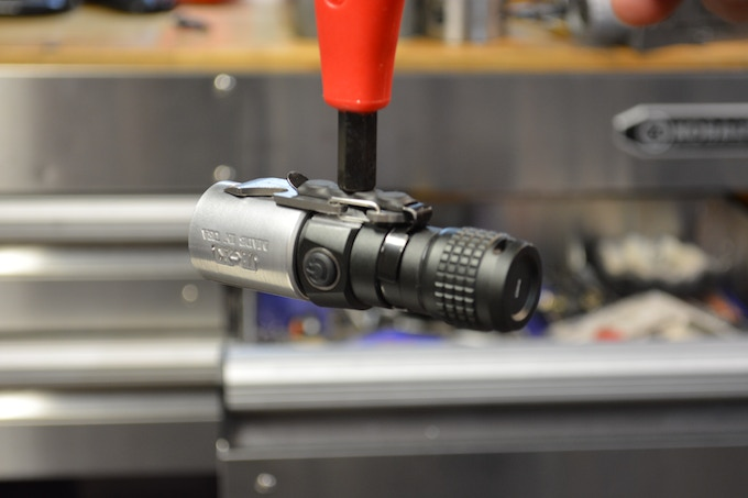 There are neodymium magnets built-in to the clip for added versatility.