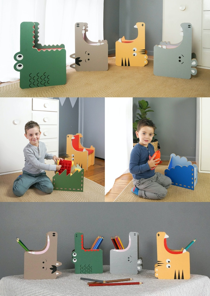gobble the world 39 s most fun recyclable furniture by form maker kickstarter. Black Bedroom Furniture Sets. Home Design Ideas