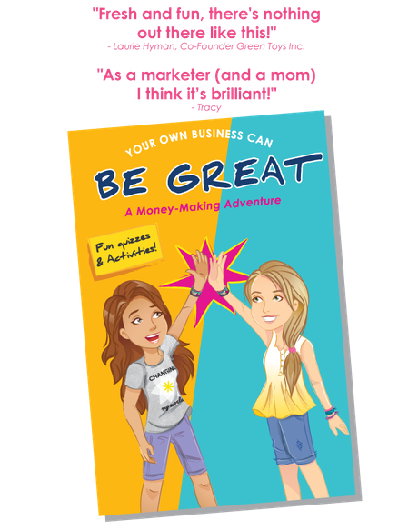 Bright Girls:Story & Activities that Teach Girls Business by