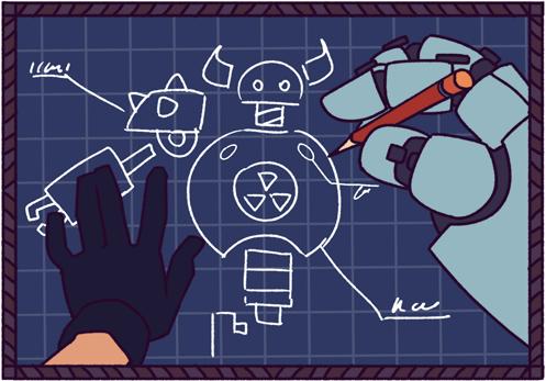 Build and customize dozens of Goliath robots!