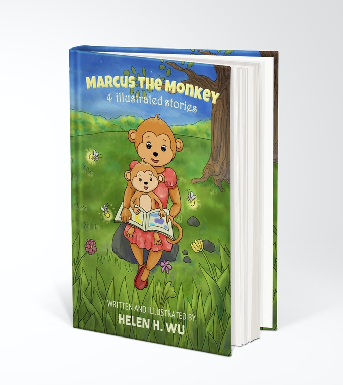 Marcus the Monkey Kickstarter children's picture book
