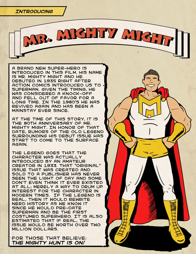 It's okay to say he is your new favorite superhero.