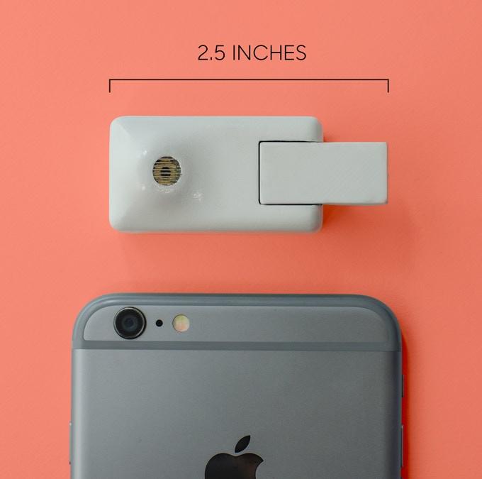 Bevel size comparison