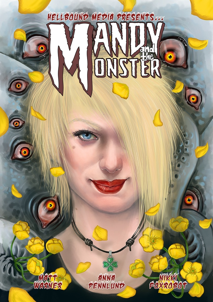 'Mandy and the Monster' cover, art by Anna Pennlund