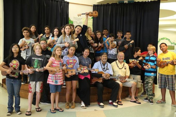 Youth Outreach Program 5th Grade Class