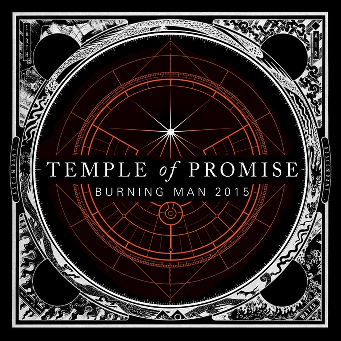Temple of Promise Insignia Sticker