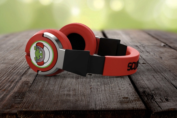 Red Racer Headphones