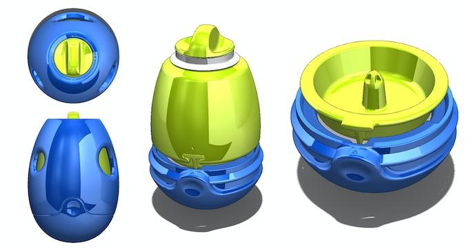 Early CAD screenshots