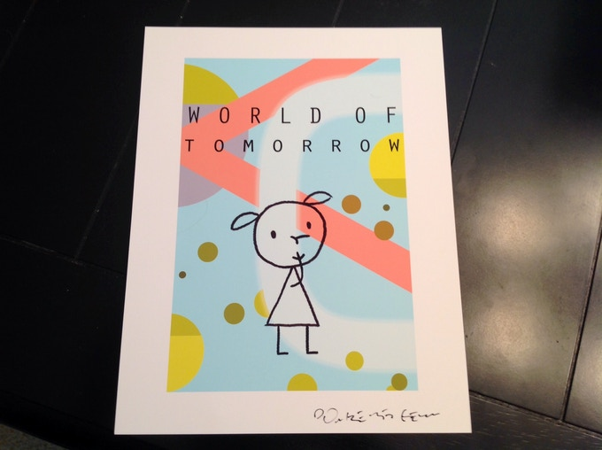 "emily, 2nd ""world of tomorrow"" art print"