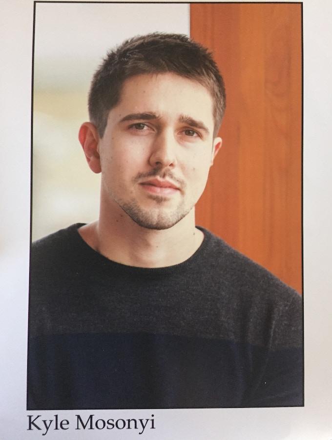 Actor Kyle Mosonyi