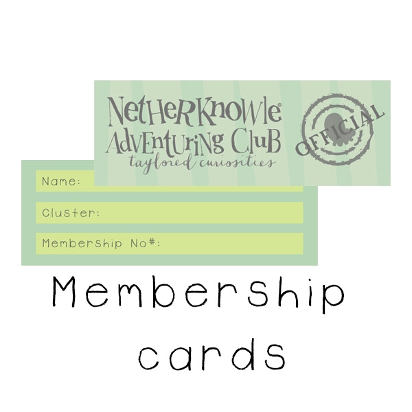 Example Membership Cards