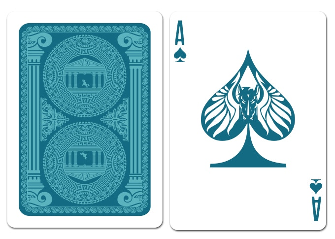 Mock up of the Ace of Spades