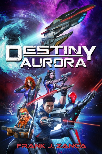 Destiny Aurora Novel Cover Art