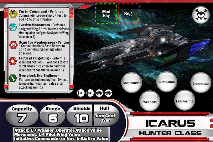 Icarus Ship Card - Not final Art