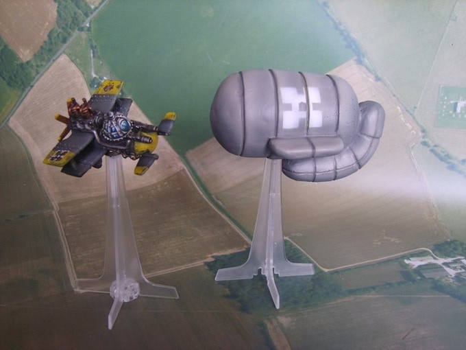 Blight Barrage Balloon (supplied unpainted, model not included)