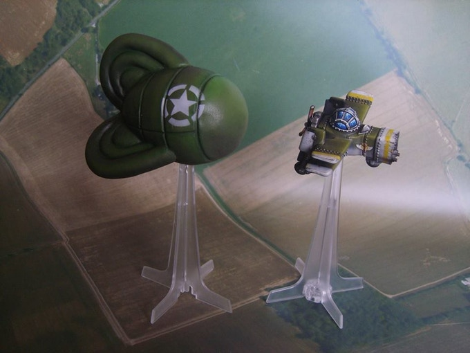 Allies Barrage Balloon (model not included)