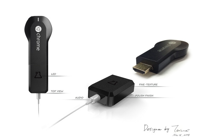 JoyDrone - Chromecast Music Adapter by DRZcreation — Kickstarter