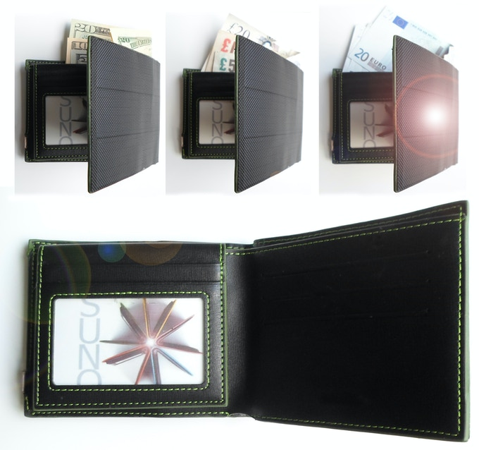 Capacity: Two Extra-wide pockets for bills, nine card-sized pockets and one ID pocket