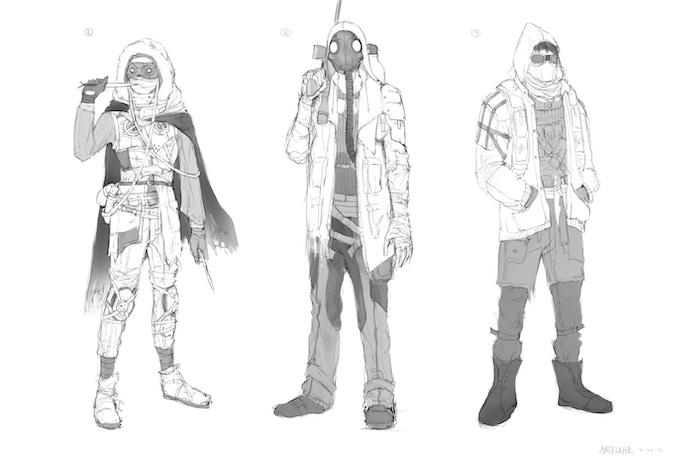Angela He - Character Concept Sketch