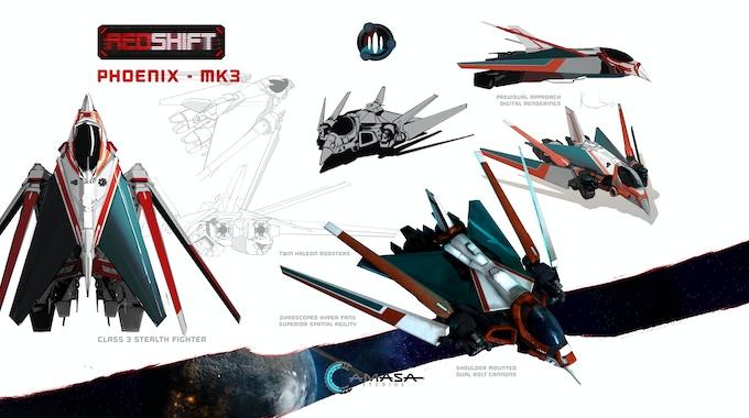 Phoenix Class Fighter - Concept