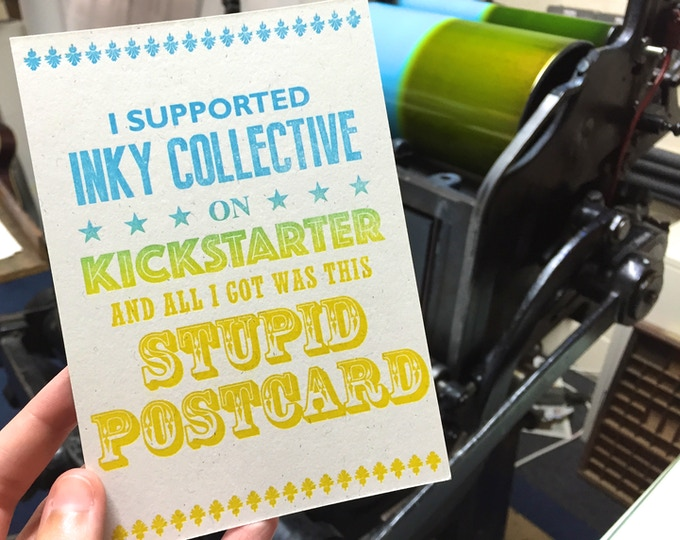 £5 Reward - Exclusive Postcard