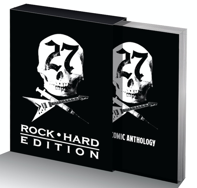 Jacket? Pfft. This book gets a #ROCKHARD BOX!