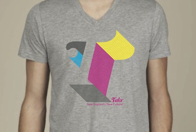 Our rockin' T-Shirt design by Artists for Humanity
