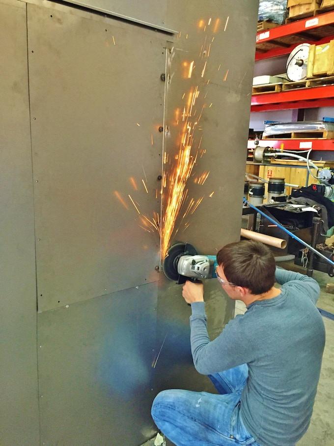 Gas storage fabrication