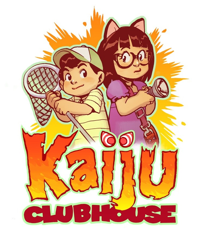 KAIJU CLUBHOUSE, a chapter book with black and white illustrations that all backers will receive in digital form if we hit the $40K stretch goal!