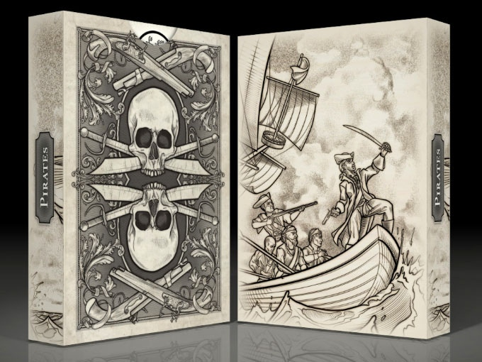 Pirate Tuck box