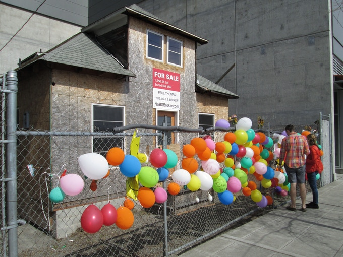 """Image of Edith's """"Up House"""" courtesy of NoBSBroker.com."""
