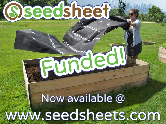 The Seedsheet is an agricultural paint-by-numbers: a product that makes  planning and planting your garden as easy as making your bed.