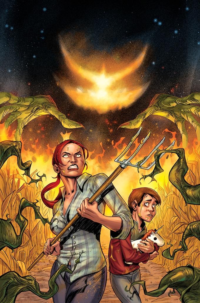 Cover of Issue #2 by Juan Antonio Ramirez & Fran Gamboa