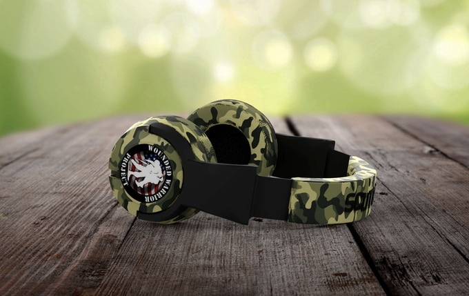 Field Camo Headphone