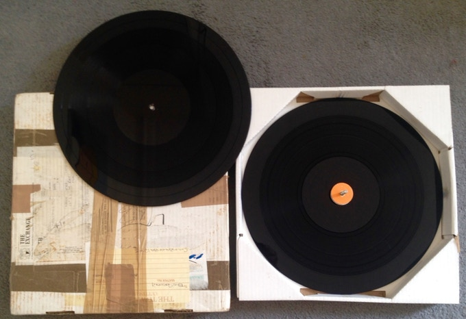 £500 For you hard core collectors out there THE original acetate of Tubthumper album!