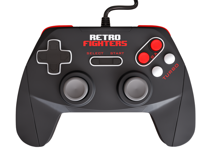 Retro Fighters Controller Front View