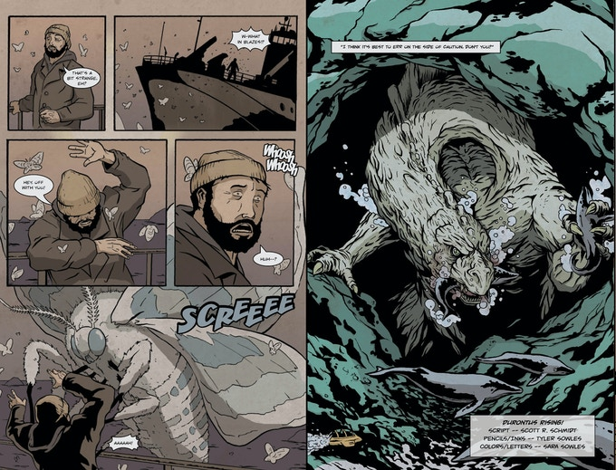 Pages 2 and 5 from Durontus Issue #1