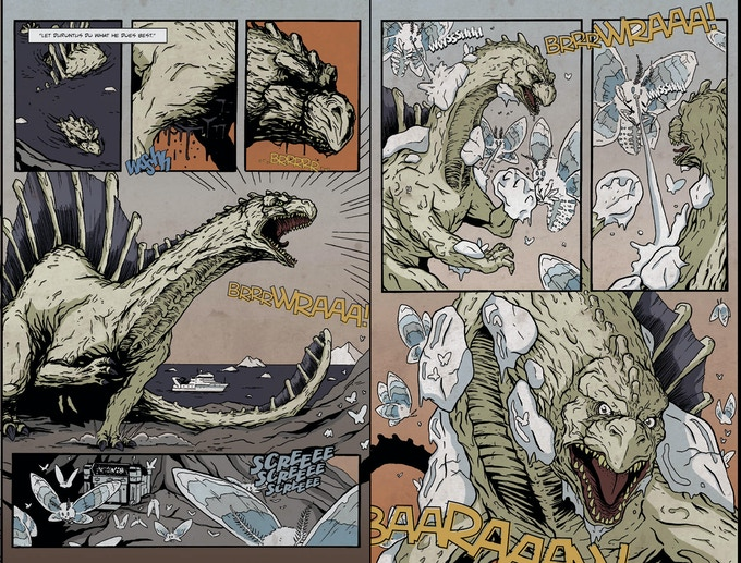 Page 14 and 17 from Durontus #1